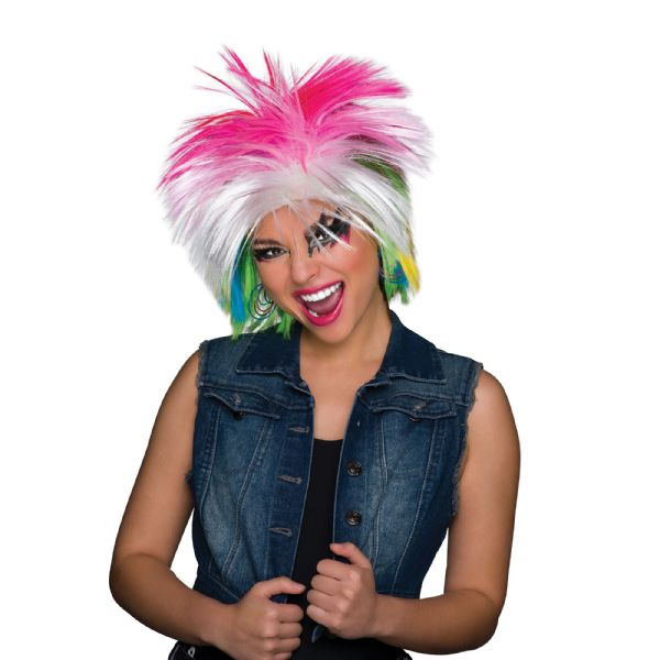 80s Pop Icon Multi Wig